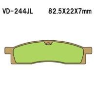 Тормозные колодки VESRAH VD-244JL