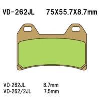 Тормозные колодки VESRAH VD-262/2JL