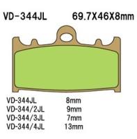 Тормозные колодки VESRAH VD-344/2JL