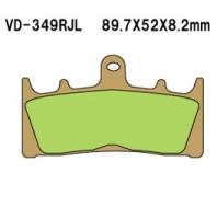 Тормозные колодки VESRAH VD-349RJL