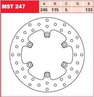 Тормозной диск TRW MST247