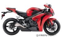 Дуги CRAZY IRON 10111 для Honda CBR1000RR (08-11) + Слайдеры на дуги