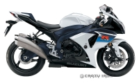 Слайдеры CRAZY IRON 2001 для Suzuki GSXR1000 (09-11)
