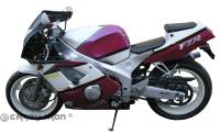 Слайдеры CRAZY IRON 3155 для Yamaha FZR400 (92-96)