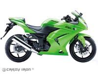 Слайдеры CRAZY IRON 4130 для Kawasaki Ninja 250R (08-12)
