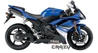 Дуги CRAZY IRON 30051 для Yamaha YZF-R1 (07-08)