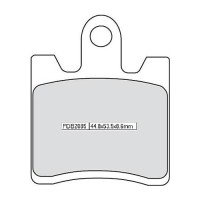 Тормозные колодки FERODO FDB2085P
