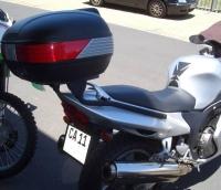 Крепления заднего кофра KAPPA Monokey K2480 для Honda CBR 1100 XX (97-09)
