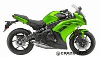 Слайдеры CRAZY IRON 4123 для Kawasaki ER6F (12-14)