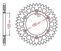 Звезда задняя PBR 899 (L)