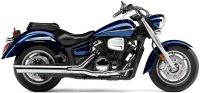 Глушитель COBRA Slip-On Scalloped Tip для YAMAHA XVS1300A V-Star (07-14)