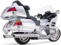 Глушитель COBRA Slip-Ons W/Scalloped Tips для Honda GL1800 Gold Wing (12-14)