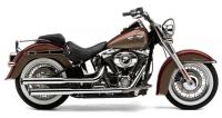 Глушитель COBRA 3-inch для Harley-Davidson Softail Cross Bones/Deluxe/Slim (07-14)