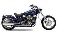 Глушитель COBRA 3-inch для Harley-Davidson Softail Rocker/C (08-11)