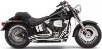 Выхлопная система COBRA Speedster Short Swept для Harley-Davidson Heritage/Softail (12-14)