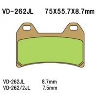 Тормозные колодки VESRAH VD-262RJL