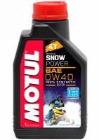 Масло моторное MOTUL Snowpower 4T 0W40