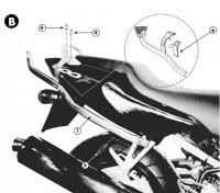 Крепеж кофра KAPPA K2520 для Honda CBR 600